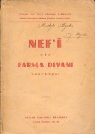Nefi Farsça Divanı