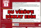 wannacry btk uyardı bu viruse dikkat edin