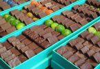 vitrindeki çikolata