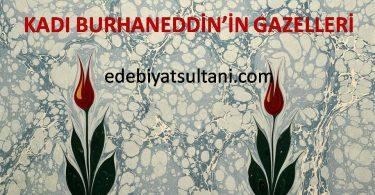 Kadı Burhaneddin'in Gazelleri
