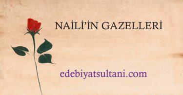 NAİLİ'NİN GAZELLERİ