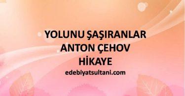YOLUNU ŞAŞIRANLAR-ANTON ÇEHOV
