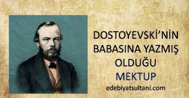 dostoyevskinin mektubu