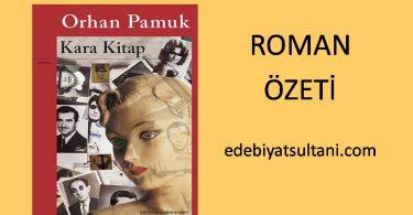 kara kitap roman ozeti