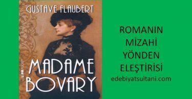 madam bovary romaninin elestirisi