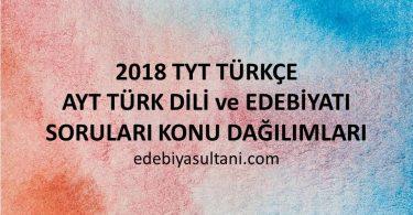 2018 tyt turkce konu dagılımları