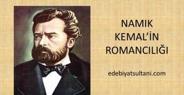 namik kemalin romanciligi