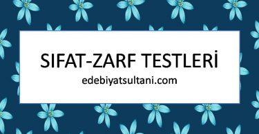 sifat-zarf testleri