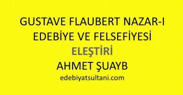 Gustave Flaubert Nazar-ı Edebiye ve Felsefiyesi