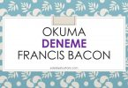 okuma francis bacon