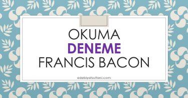 okuma francis bacon