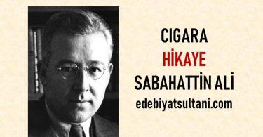 cigara hikayesi