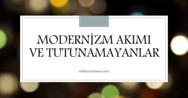 modernizm akımı
