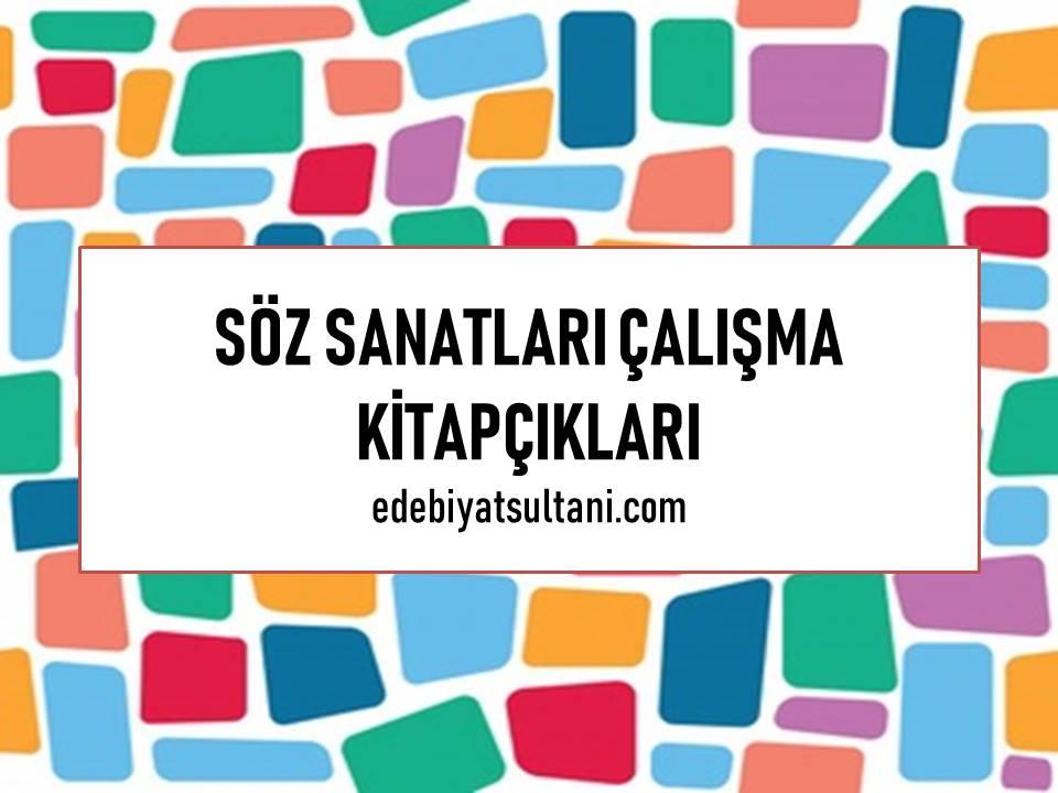 Soz Sanatlari Calisma Kitapcigi 3 Edebiyat Sultani